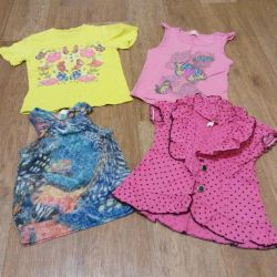 T-shirts 3pcs