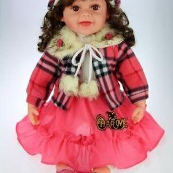 Новая шикарная кукла винил 61 см
