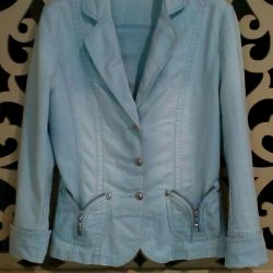 Denim, blue jacket