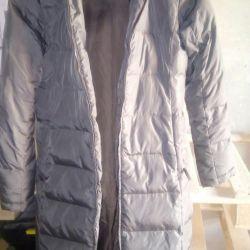 Cloak down jacket
