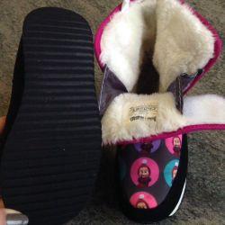 Μπότες για παιδιά για κορίτσι χειμώνα Crosby