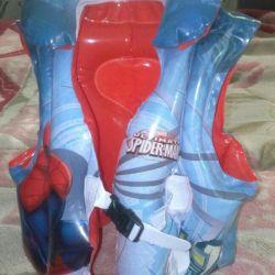 Swimming vest for children.