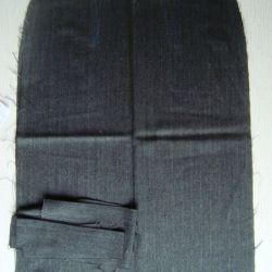 Fabric wool Ripped skirt