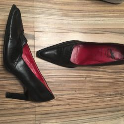 Leather shoes, 37