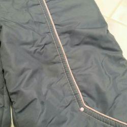 Bir kız için kışlık pantolon