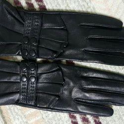 γάντια νέο γνήσιο δέρμα