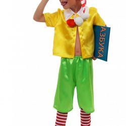 Children's carnival costume Pinocchio