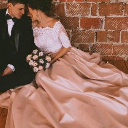 Wedding and evening dresses.