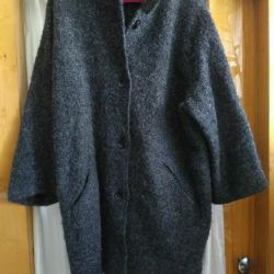 COAT NEW 62-66 / 5XL WOOL FRANCE