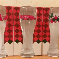 Coca Cola glasses collection