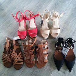 Pantofi de vară noi Zara Forever21
