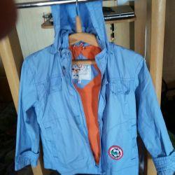 Bir çocuk rüzgarlık ceket