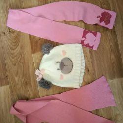 Hat, children's scarves