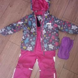 Costum cu membrană crockid de iarnă