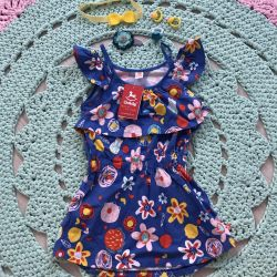 Dress tunic for new girl! 116 size, 4-5