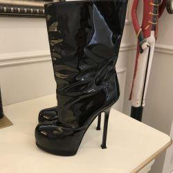Μπότες YSL. Αρχικό