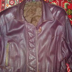 women's leather jacket size 44-46 M