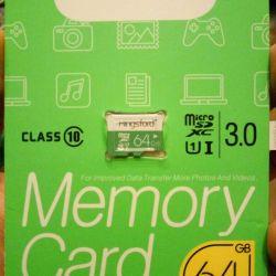 Micro SDXC 64gb card de memorie de 10 clase noi