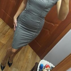 The dress is very cool Italian!