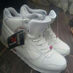 Νέα λευκά, αθλητικά παπούτσια ανδρών χειμώνα 45,41