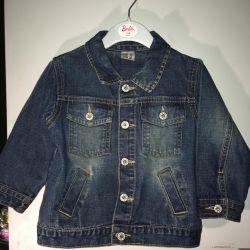 marca & spenser jacheta denim și blugi