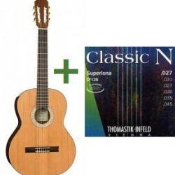 Klasik gitar, boyut 1/2, Kremona