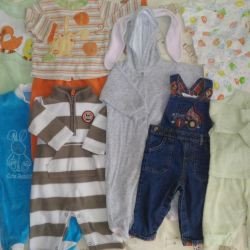 Clothes for the boy 3-9 months package