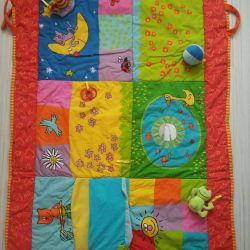 Taf toys коврик
