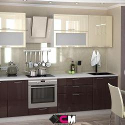 Кухня Ксения 2.8м. МДФ