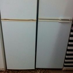 İki buzdolabı