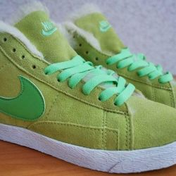 Nike Blazer winter sneakers
