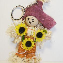 Брелок Соломенная кукла