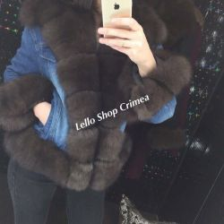 Jackets with natural fur