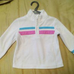 Fleece jacket Poivre blanc 2 y