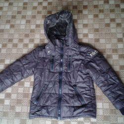 Bir çocuk 10 yıl off-season için ceketler