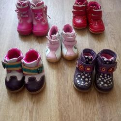 Pantofi pentru copii toamna