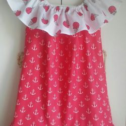 Dress - a sundress on the girl of 4-6 years