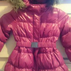 Benetton down jacket, 3-4 g 100cm
