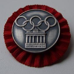 Olimpiyat rozeti 1936 Almanya
