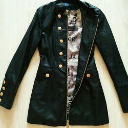 Leather jacket 44 size women