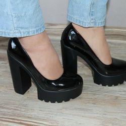 Lacivert ayakkabılar