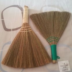 The whisk (rice) a decorative broom charm