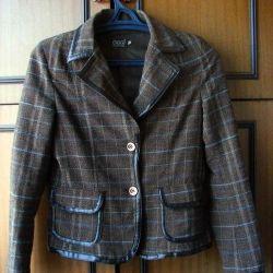 Jacket într-o cușcă oggi Dimensiune 40-42 pe înălțime 164-172
