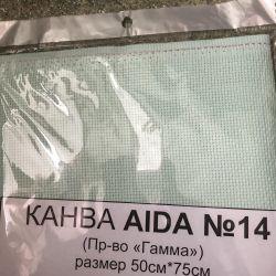 Καμβά GAMMA Aida 14 K04