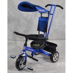 Stroller bike on three wheels super trike