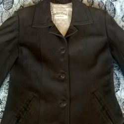 Women's jacket from crack