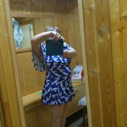 Платье-купальник 👗👙новый р.60.