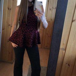 Кофта і джинси кльош
