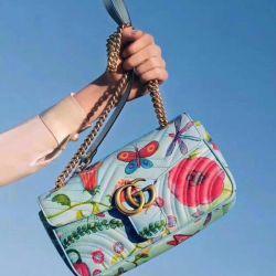 Bag Gucci Marmont matelasse.