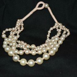 Beads necklace h & m